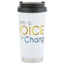 VOICE for Change Travel Coffee Mug