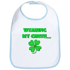 Tidewriter Holiday Wear - Saint Patrick's Day Bib
