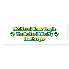 Like Leonberger Bumper Stickers
