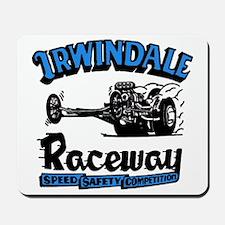 Old Irwindale Logo Mousepad