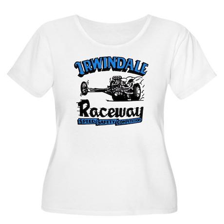Old Irwindale Women's Plus Size Scoop Neck T-Shirt