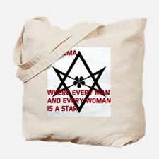 Thelema-is a star Tote Bag