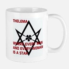 Thelema-is a star Mugs
