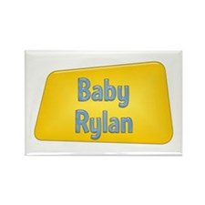 Baby Rylan Rectangle Magnet