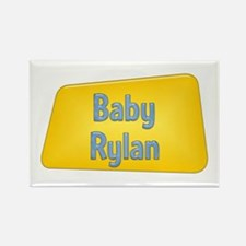Baby Rylan Rectangle Magnet