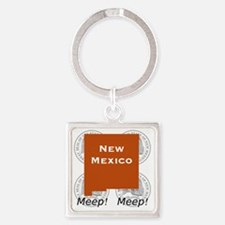 New Mexico Square Keychain