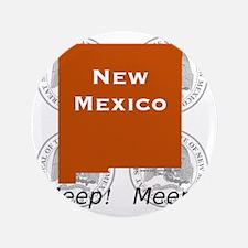 """New Mexico 3.5"""" Button"""