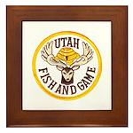 Utah Game Warden Framed Tile