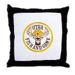 Utah Game Warden Throw Pillow