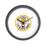Utah Game Warden Wall Clock