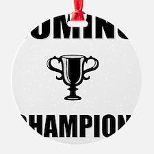 domino champ Ornament