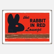 The Rabbit In Red Banner