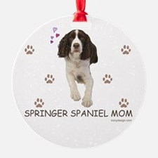 Springer Spaniel Mom Ornament