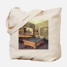 Edgar Degas Billiard Room Tote Bag