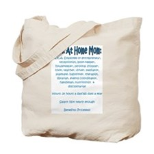 Work At Home Mom (JD) Tote Bag