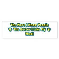 Like Mudi Bumper Bumper Sticker