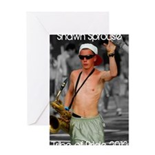 Shawn Sprouse Poster Greeting Card