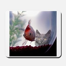 Fishy Wishes Mousepad