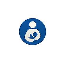 Breastfeeding Icon Mini Button