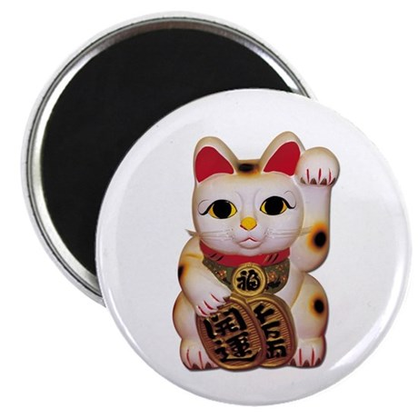 """Lucky Cat 2.25"""" Magnet (100 pack)"""