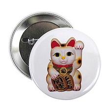 Lucky Cat Button