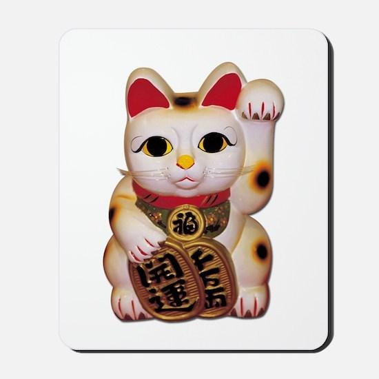 Lucky Cat Mousepad