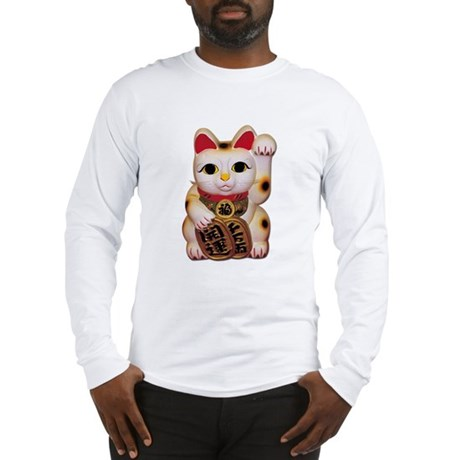 Lucky Cat Long Sleeve T-Shirt