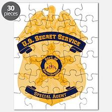 XXX Secret Service Badge Puzzle