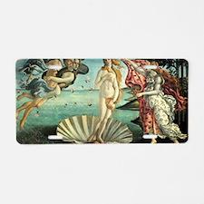 The Birth of Venus - Sandro Aluminum License Plate
