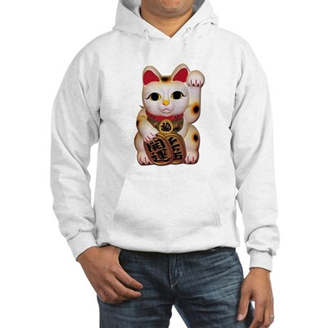 Lucky Cat Hooded Sweatshirt
