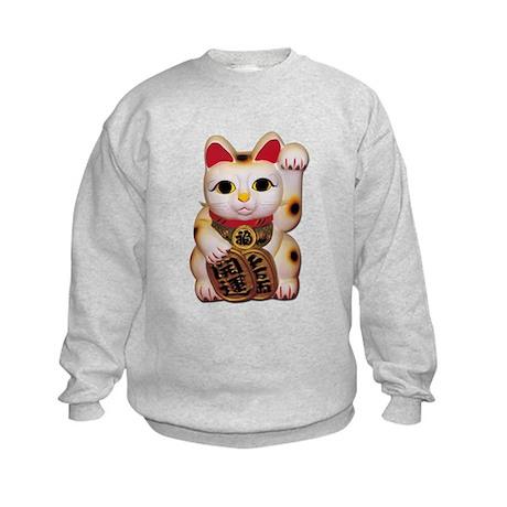 Lucky Cat Kids Sweatshirt