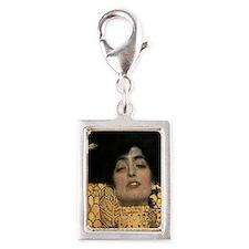 Gustav Klimt Judith Silver Portrait Charm