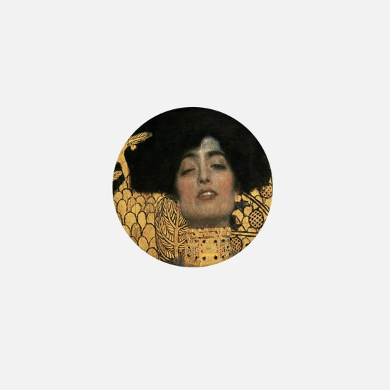 Gustav Klimt Judith Mini Button