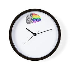 Shift Happens - Wht - back Wall Clock