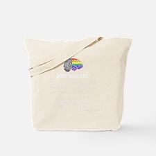 Shift Happens - Wht - back Tote Bag