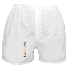 Timor Lorosa'e Boxer Shorts