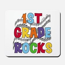 Bright Colors 1st Grade Mousepad