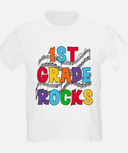 Bright Colors 1st Grade Kids T-Shirt