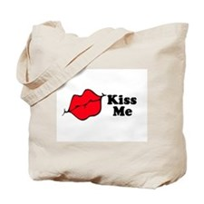 Kiss Me Tote Bag
