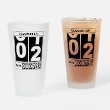 Oldometer 2 Drinking Glass