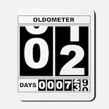 Oldometer 2 Mousepad