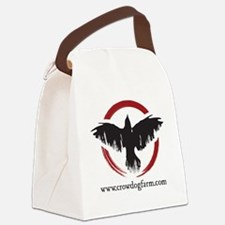 Crow Dog Farm Crow Canvas Lunch Bag