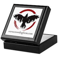 Crow Dog Farm Crow Keepsake Box