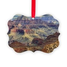 grand canyon 5 Picture Ornament