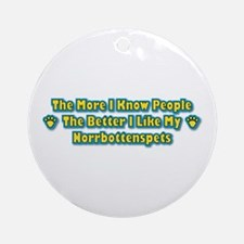 Like Norrbottenspets Ornament (Round)