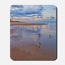 Ocean Birds at Sunrise Mousepad