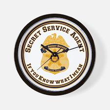 The XXX SecretService Wall Clock