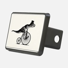 T-Rex on a Penny Farthing  Rectangular Hitch Cover