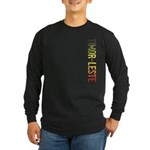 Timor-Leste Long Sleeve Dark T-Shirt