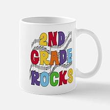 Bright Colors 2nd Grade Mug